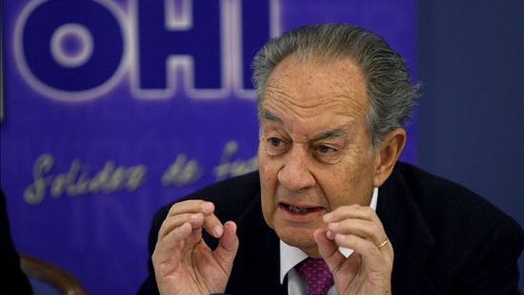 El presidente de OHL, Juan Miguel Villar-Mir. EFE/Archivo