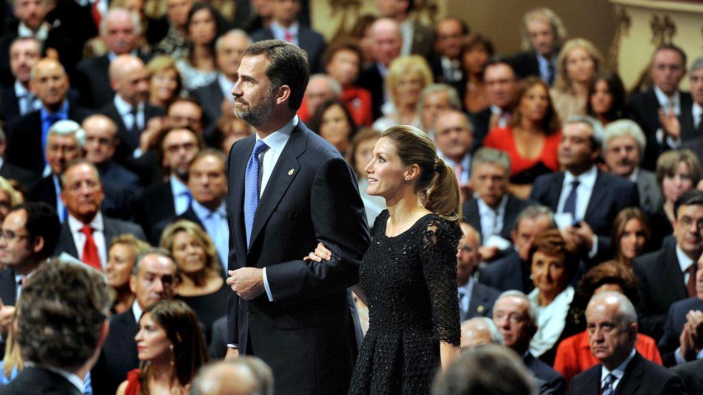 Reyes de España en el Teatro Campoamor