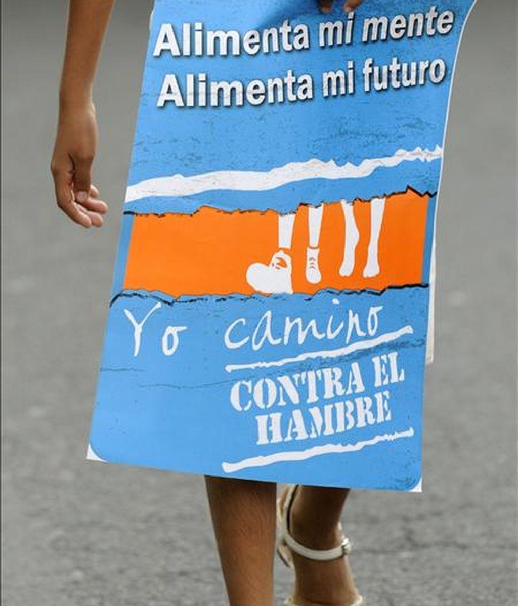 La incidencia de la desnutrición crónica infantil alcanza al 52 por ciento de los menores de cinco años en la provincia de Chimborazo. EFE/Archivo