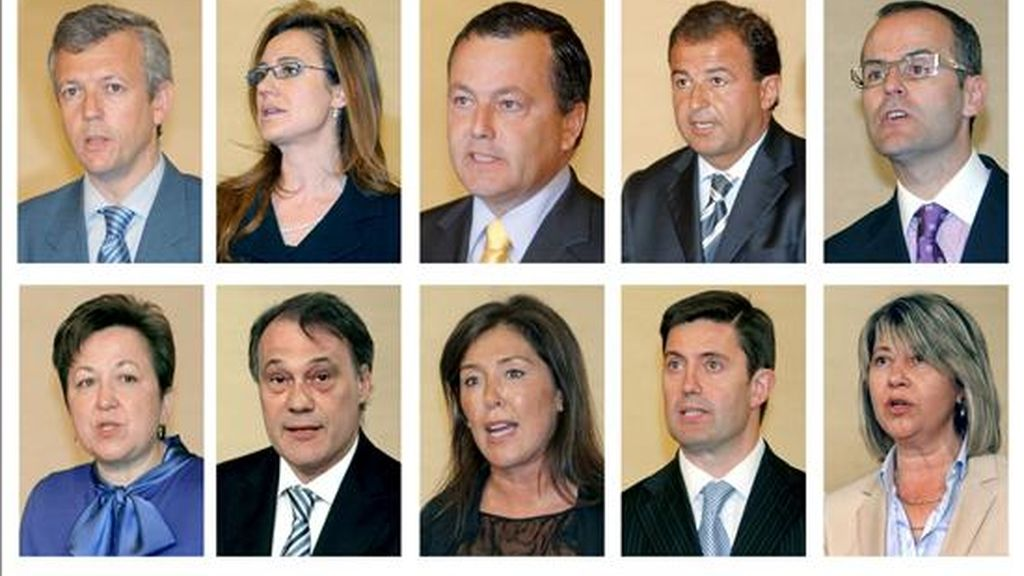 Juran su cargo los 10 nuevos conselleros. Vídeo:ATLAS