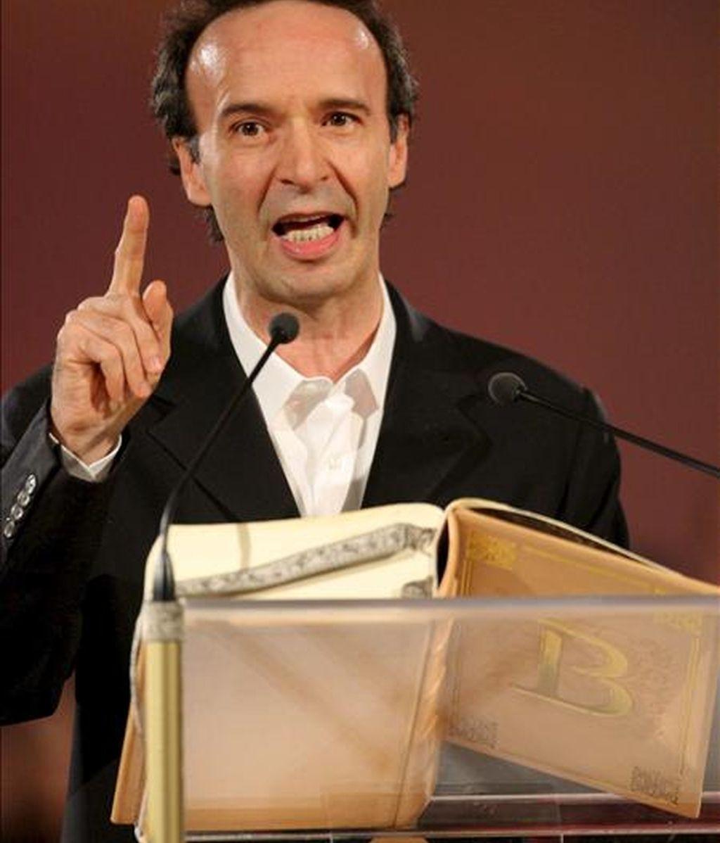 El actor y director de cine italiano Roberto Begnini. EFE/Archivo