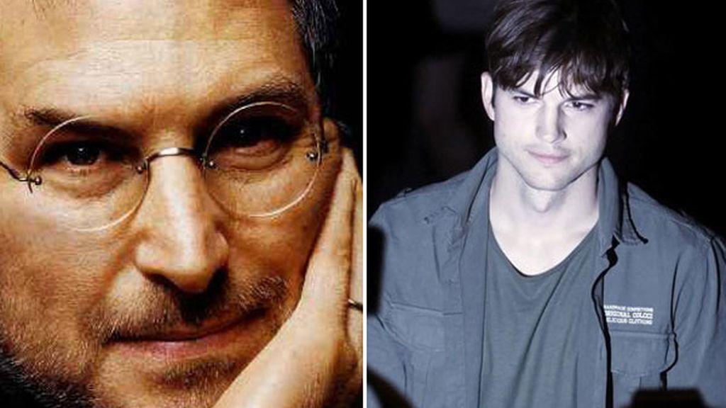 Ashton Kutcher interpretará a Steve Jobs en la gran pantalla