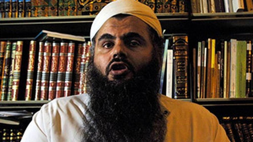 Abu Qatada en una imagen de archivo. Foto: AP.