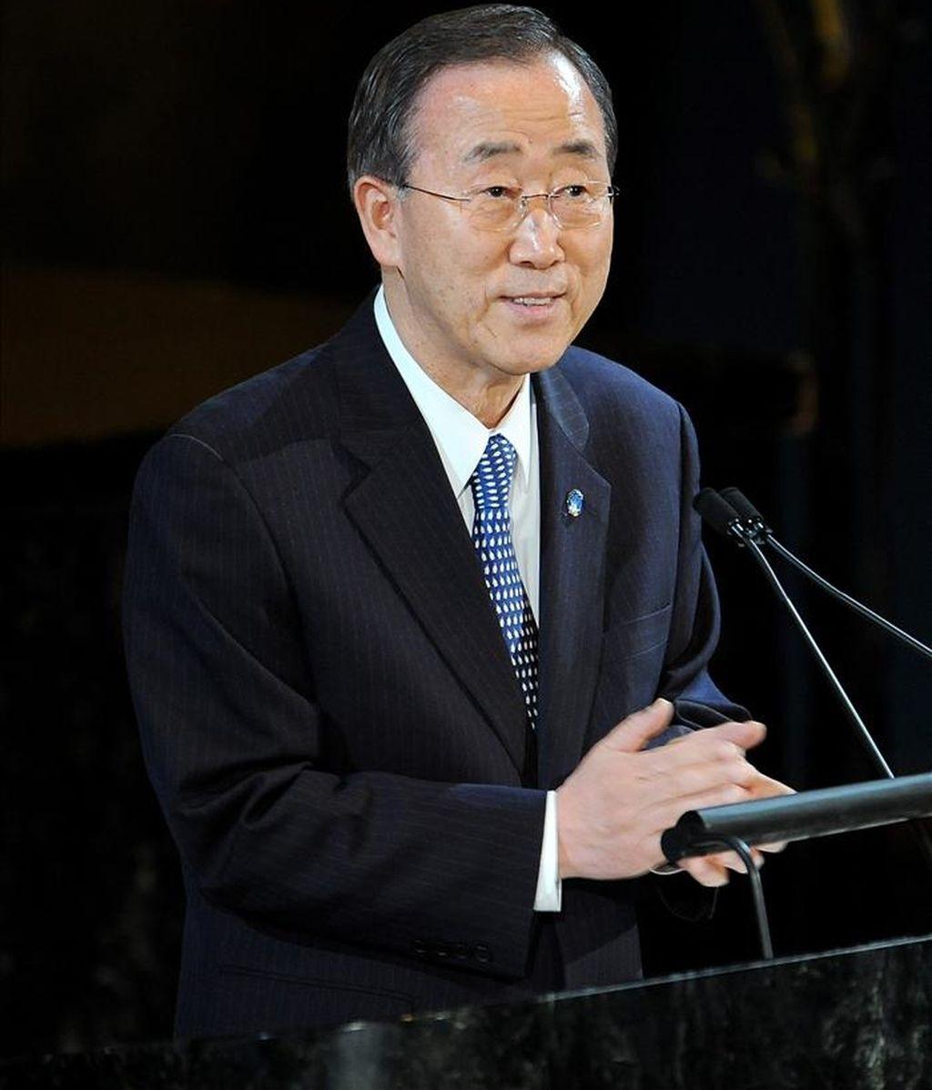El Secretario General de la ONU, Ban Ki-moon, debe entregar ese documento al Consejo de Seguridad de Naciones Unidas antes de decidir sobre la renovación del mandato de la Misión de la ONU para el Referéndum en el Sahara Occidental (Minurso). EFE/Archivo