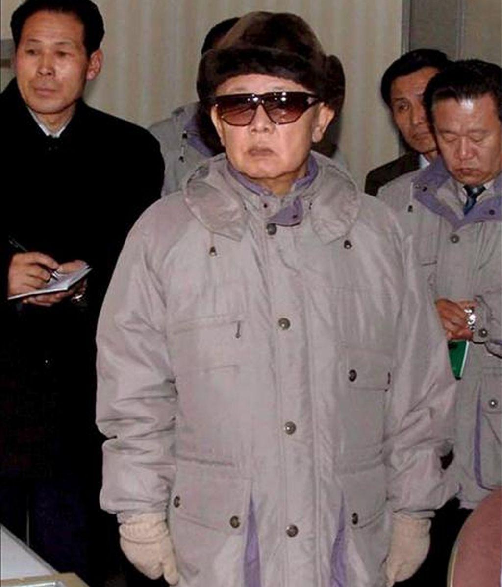 El hijo más joven de Kim Jong-il (en la imagen)designado para sucederle, según Yonhap. EFE/Archivo