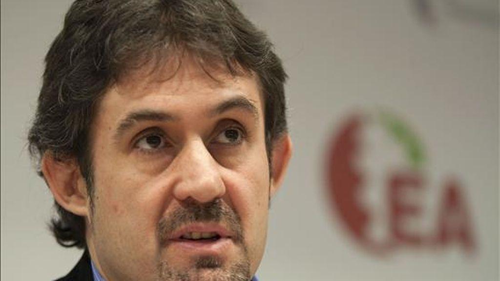 El secretario general de Eusko Alkartasuna, Peio Urizar. EFE/Archivo
