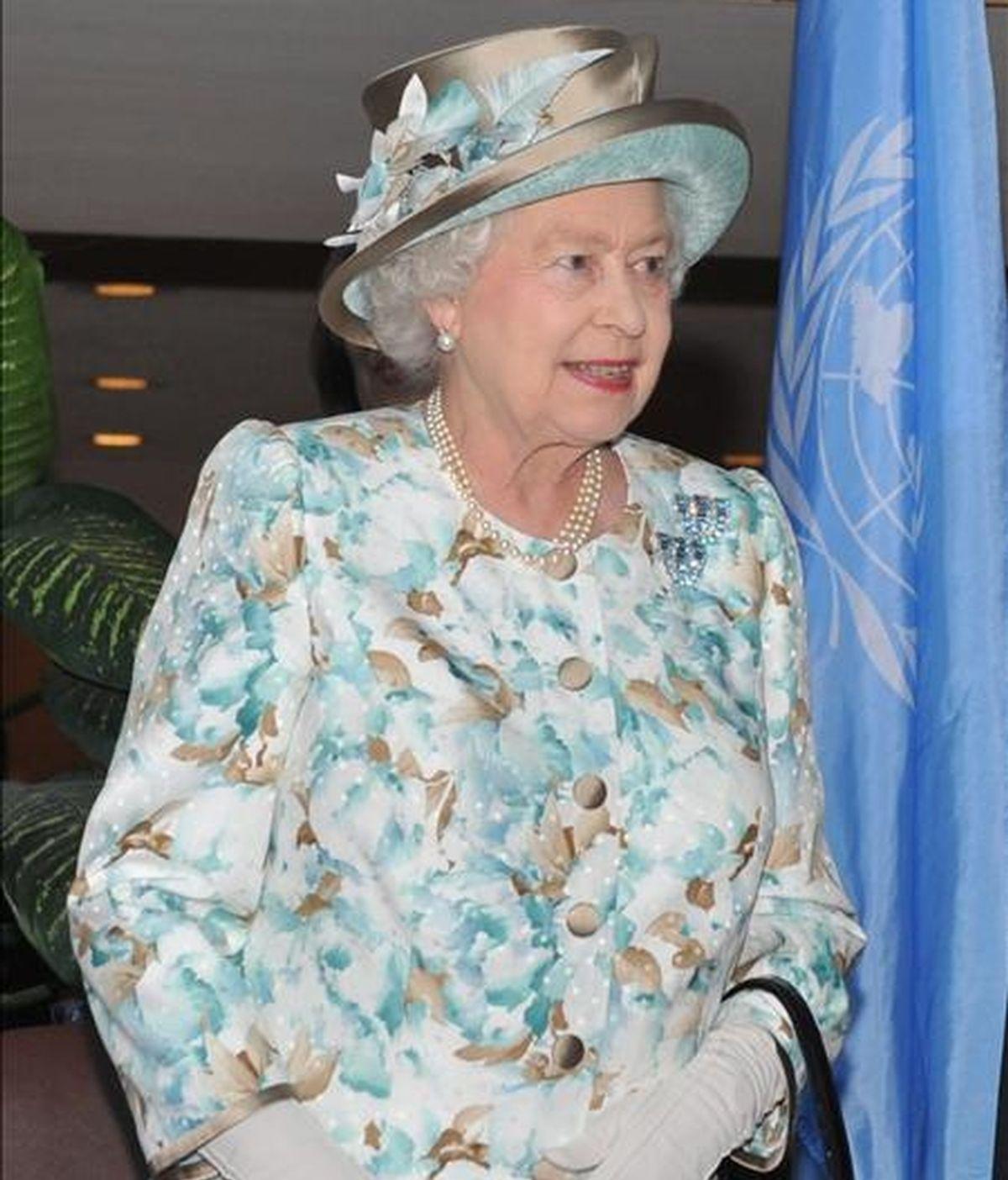 La reina Isabel II de Inglaterra. EFE/Archivo