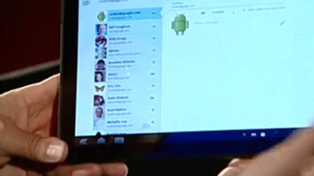 La tableta de Google en desarrollo con el fabricante de móviles Motorola.