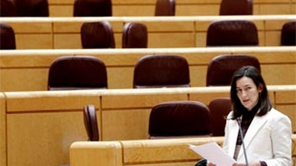 La ministra. Foto: Archivo.