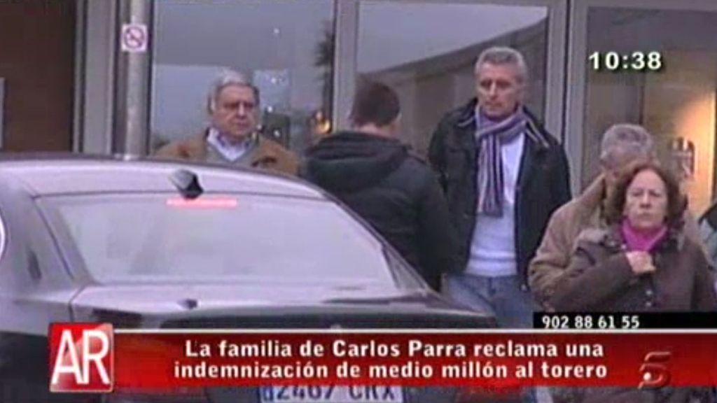 La familia de Carlos Parra solicita 500.000 euros de indemnización a Ortega Cano