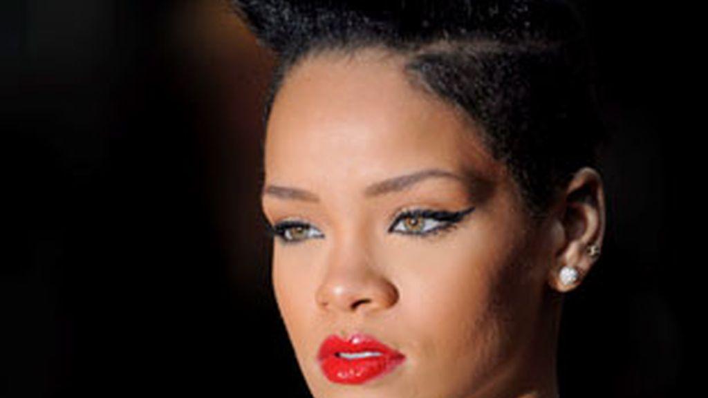 Rihanna en una foto de archivo en Londres. Foto: EFE