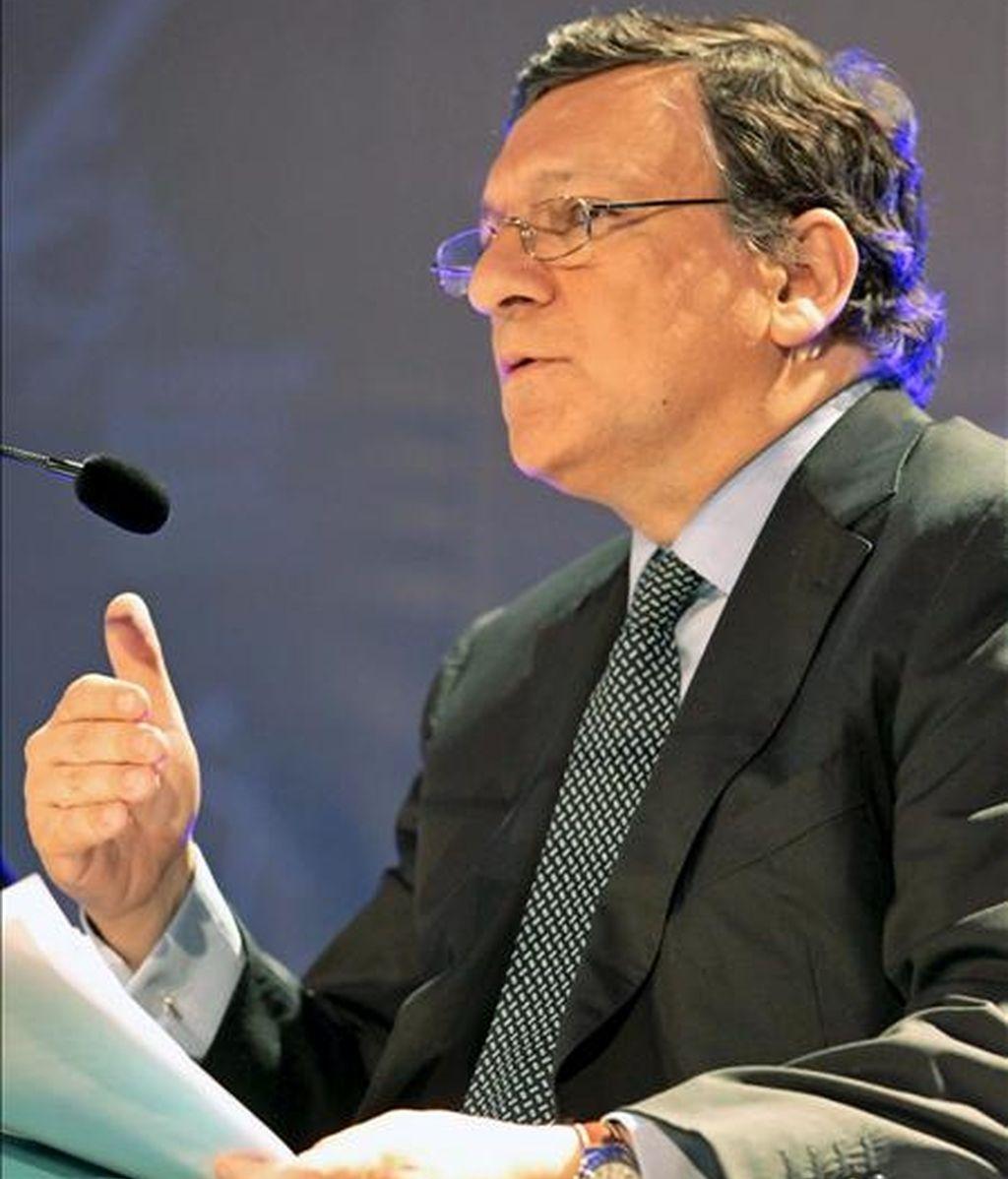 El presidente de la CE, José Manuel Durao Barroso. EFE/Archivo