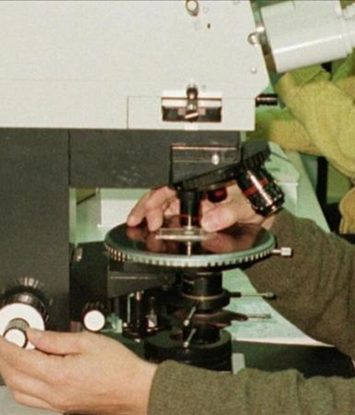 Un científico trabaja en un laboratorio. EFE/Archivo