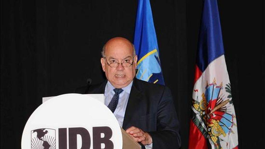 """El secretario general de la OEA, José Miguel Insulza, hizo en Washington (EE.UU.), un llamamiento a la comunidad internacional para que proporcione la ayuda """"urgente"""" que necesita Haití a corto plazo. EFE"""