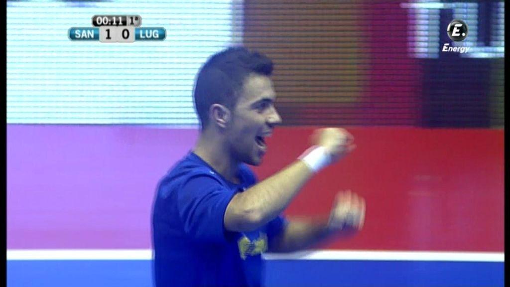 Gol de Cuco (Santiago 1-1 Azkar)