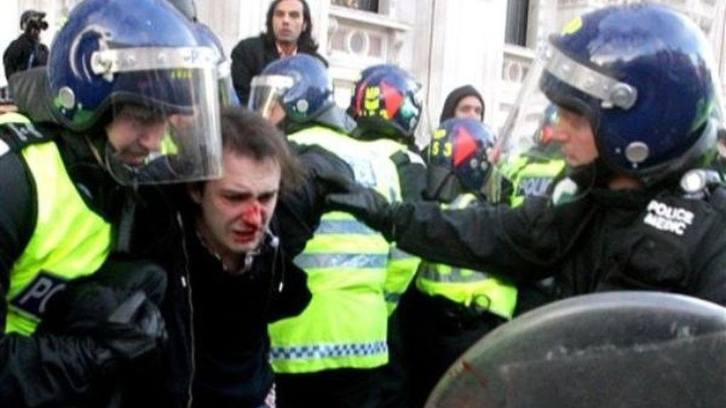 Disturbios en el Reino Unido