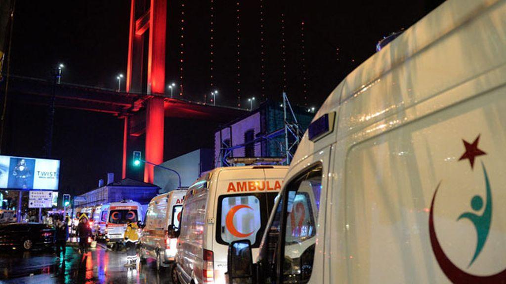 Las imágenes tras el atentado en el Club Reina, en Estambul