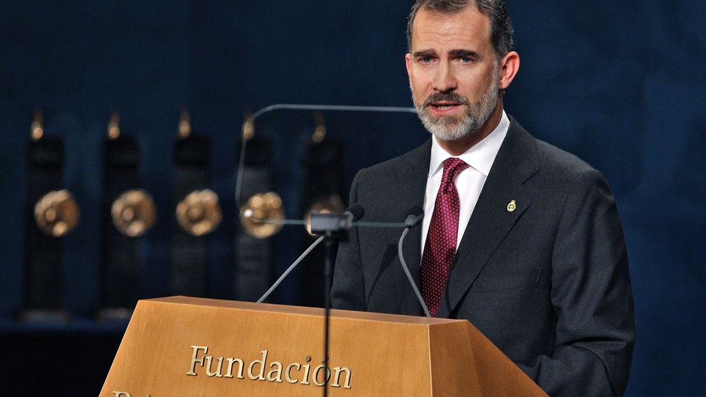 El Rey, en su discurso en los Princesa de Asturias