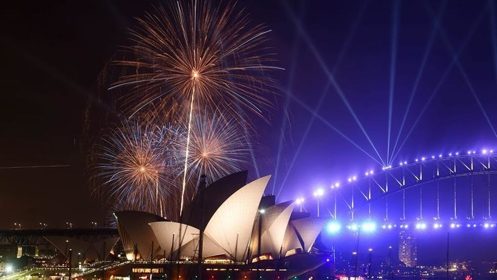 Sydney da la bienvenida al 2017