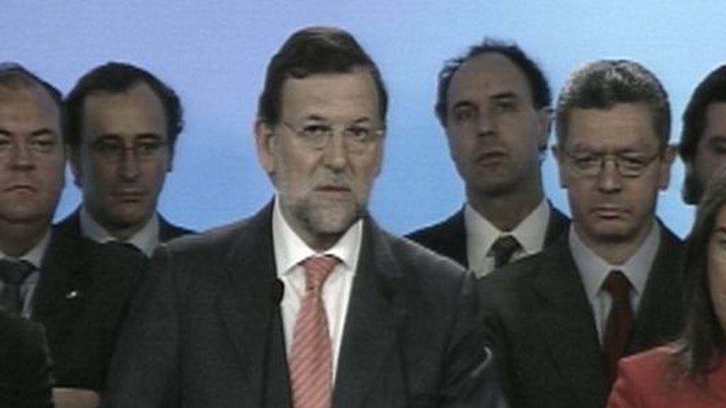 Rajoy se enfrenta a 'la trama del PP' en la sede de Génova