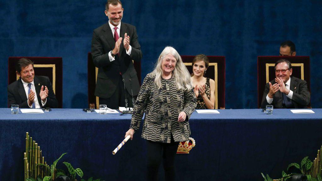 Mary Beard recibe el Princesa de Asturias de Ciencias Sociales