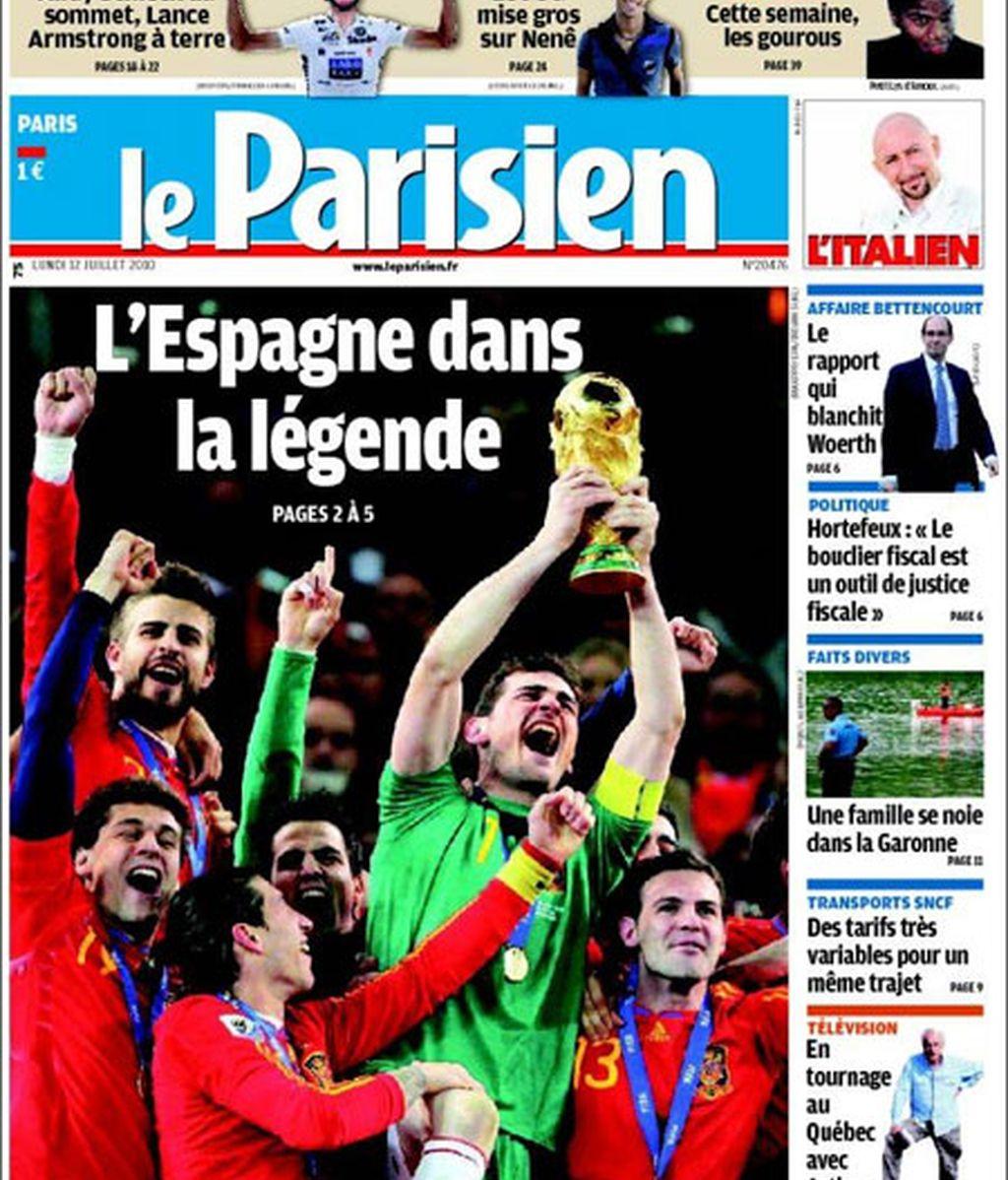 '¡España, campeona del mundo!'