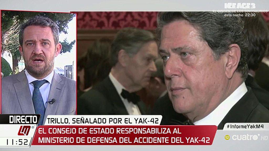 Jaime de Olano (PP) cree que no se debe cesar a Trillo a pesar del informe del Consejo de Estado sobre el Yak-42