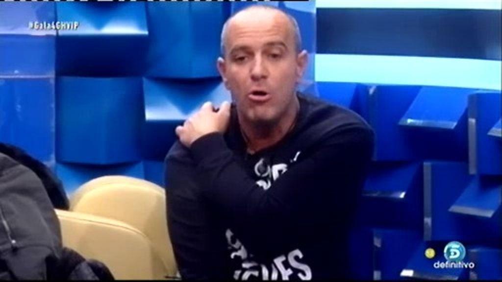 """Víctor Sandoval: """"No tengo que soportar que se me grite cada vez que hablo"""""""