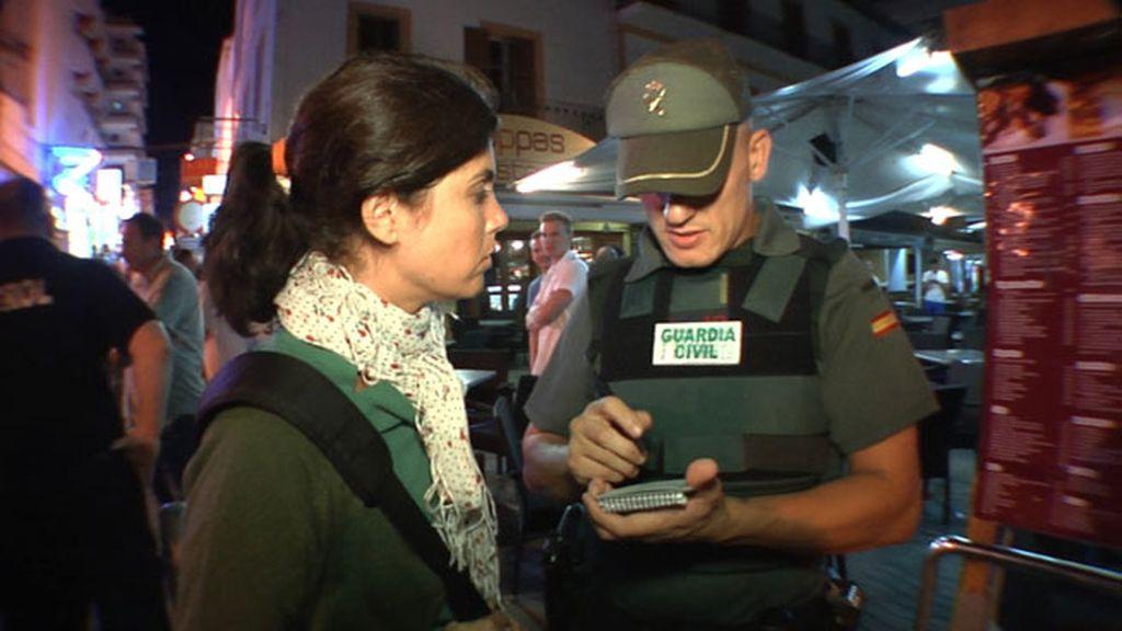 Samanta Villar, testigo de las condiciones a las que se enfrenta la Guardia Civil