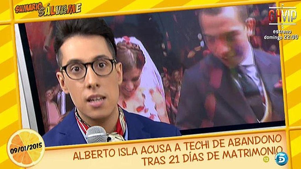 """Jesús Reyes: """"Los motivos que Techi ha dado a Alberto Isla para romper no son reales"""""""