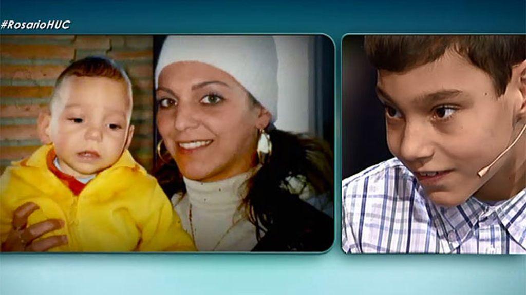 Las fotos familiares de Adrián