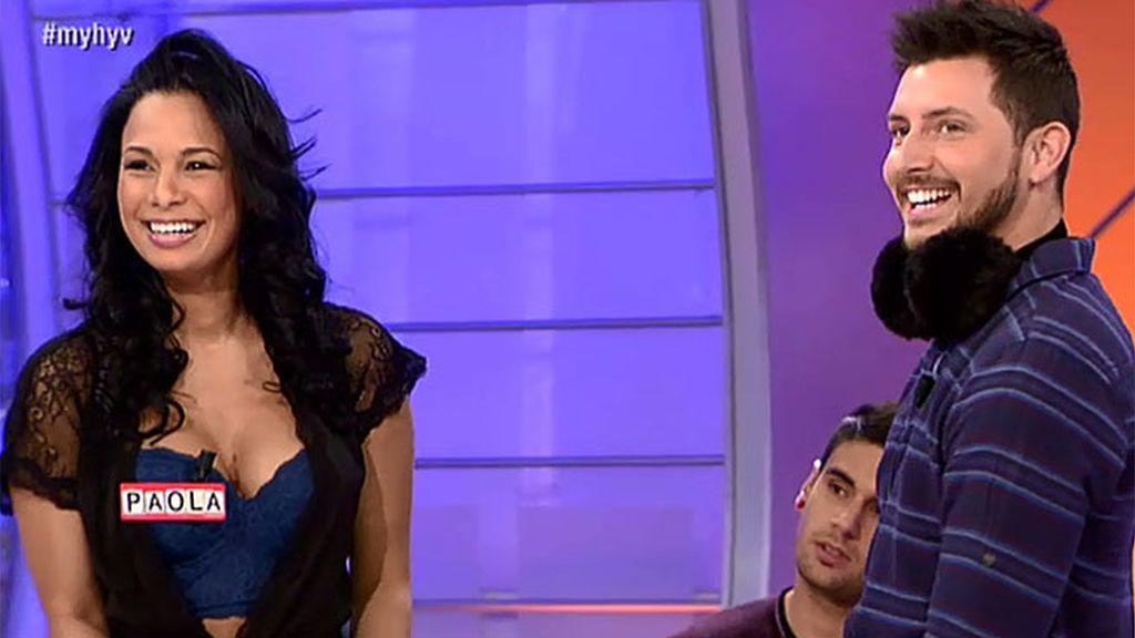 Paola sube la temperatura con su look