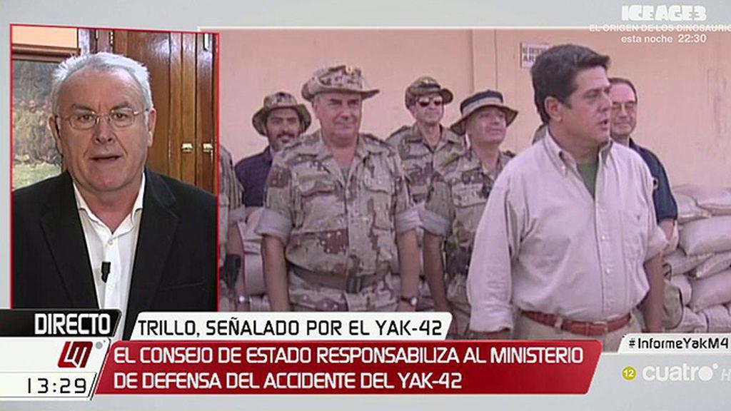 """Cayo Lara, sobre el Yak-42: """"El cese es lo que le toca aplicar al Gobierno a Trillo"""""""