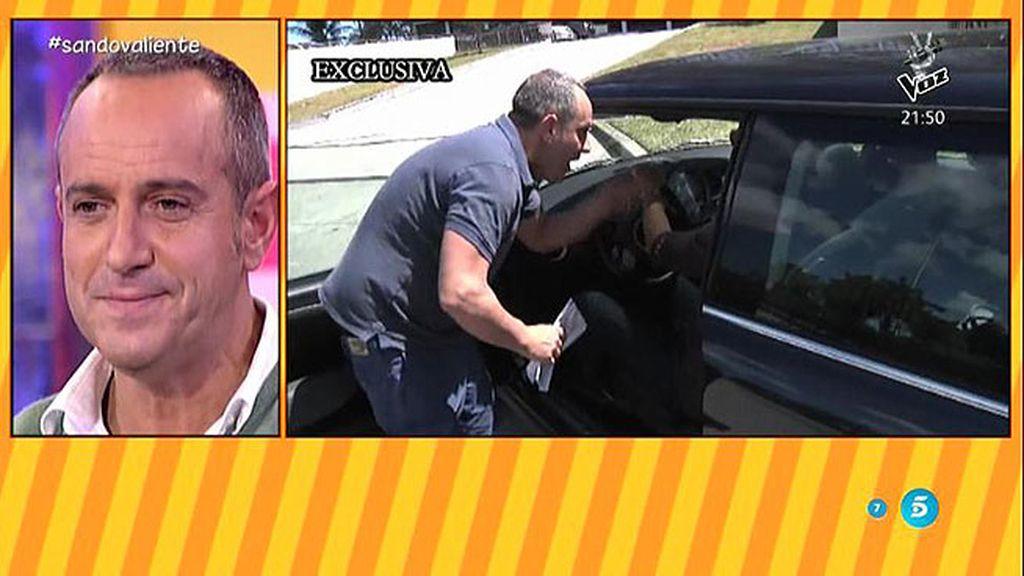 """Víctor Sandoval: """"No tendría que haber viajado a Miami, me arrepiento"""""""