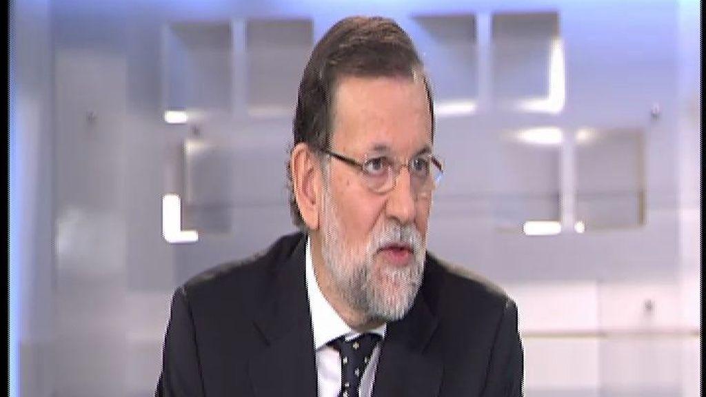 """Rajoy: """"Ni conocía la contabilidad B ni recibí dinero negro"""""""