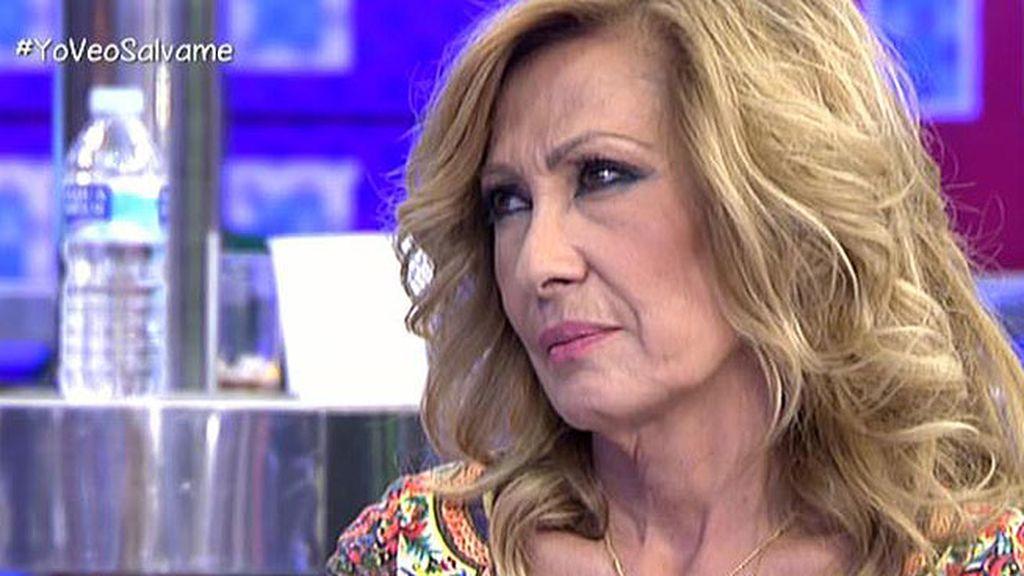"""Rosa Benito: """"No creo que Amador sea feliz, en el fondo está solo"""""""