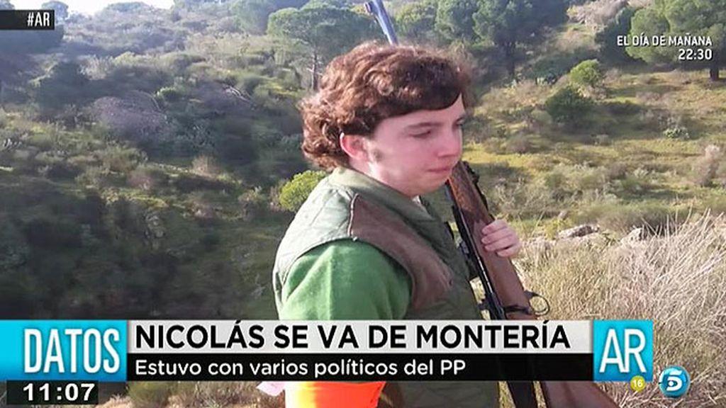 Imágenes exclusivas: F. Nicolás se va de montería a Alcántara con miembros del PP