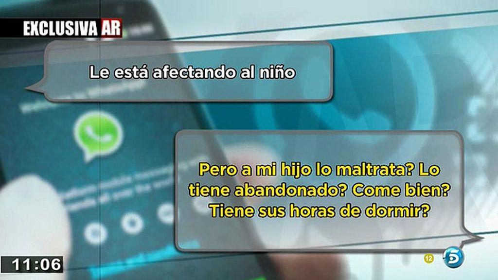 Los mensajes del asesino del menor de Málaga al padre biológico, en exclusiva