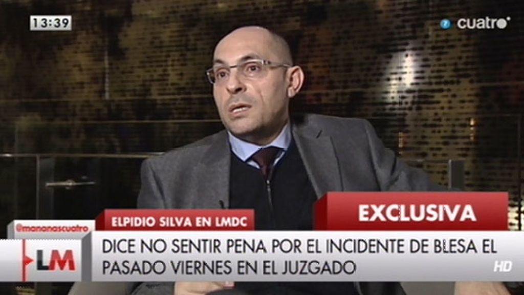 """Elpidio José Silva, sobre Blesa: """"No me da pena ninguna"""""""
