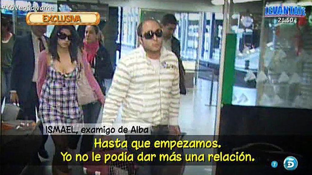 """Ismael: """"Alba también se puso en contacto conmigo cuando estuvo con Kiko Rivera"""""""