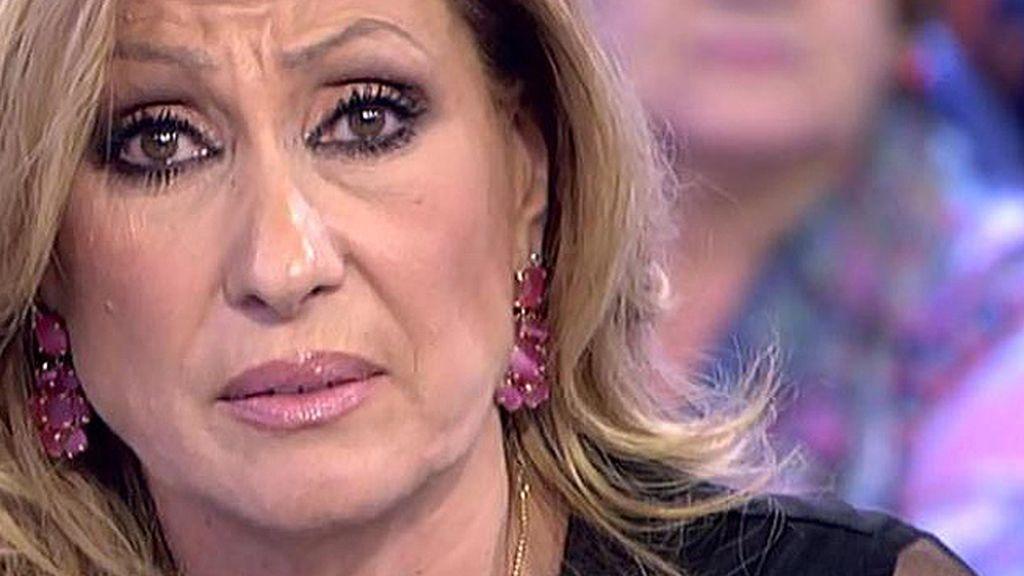 """Rosa, a Amador: """"No le tapes la boca a Gloria Camila, pero se ha equivocado"""""""