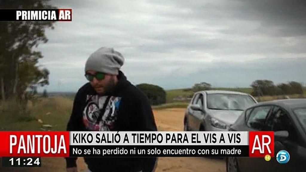 La primera visita de Kiko a su madre tras salir de 'GH VIP', en primicia