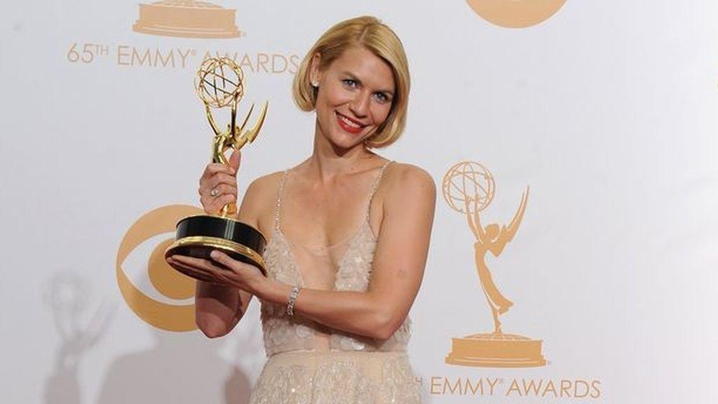 Claire Danes gana su segundo Emmy consecutivo a la Mejor Actriz por 'Homeland'