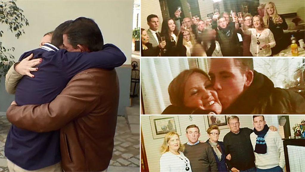Cristian se reconcilia con toda su familia
