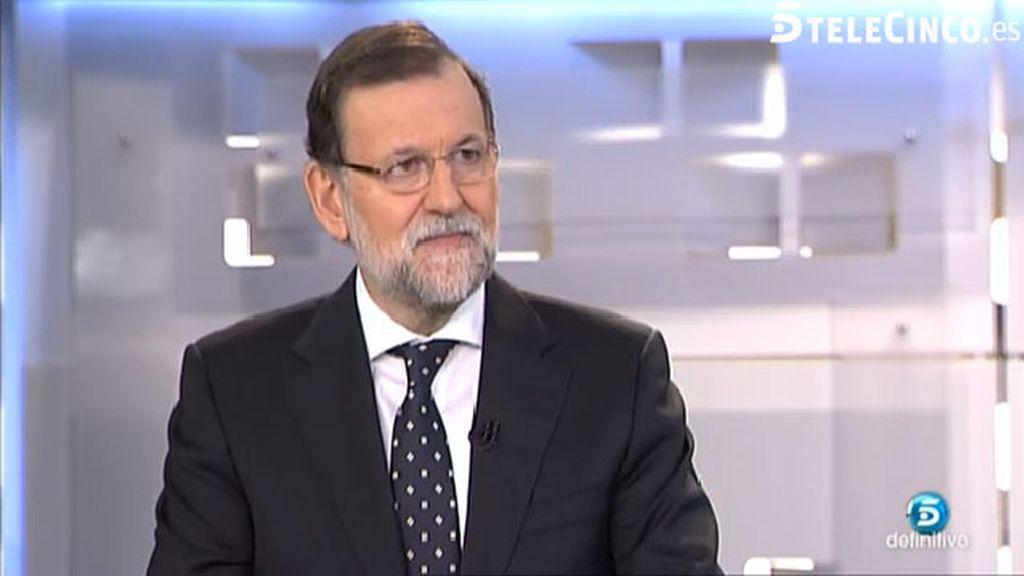 """Rajoy sobre Grecia: """"Los partidos radicales no solucionan los problemas de la gente"""""""
