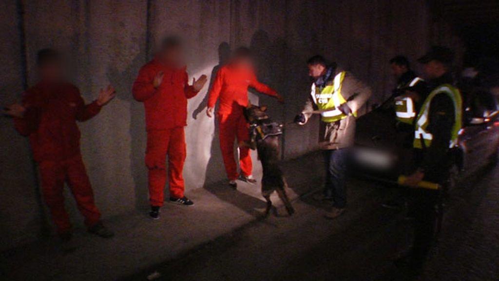 La Guardia Civil organiza un dispositivo antidroga en la Cañada Real