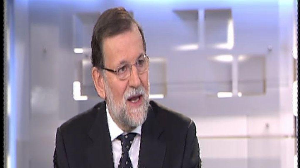 """Rajoy: """"Éramos el 'enfermo' de Europa y ahora somos el país que más empleo crea"""""""