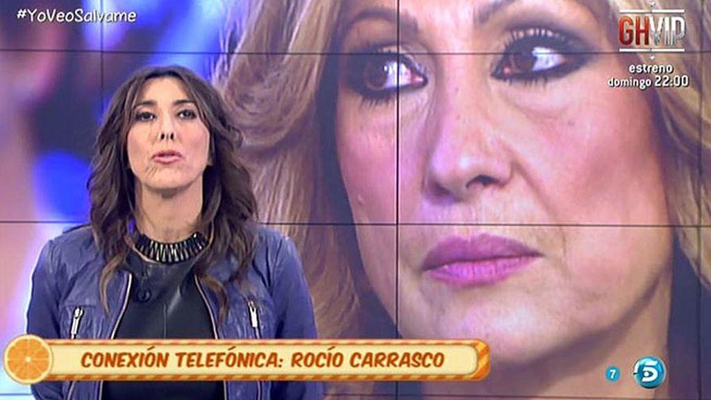 """Rocío Carrasco: """"Mi tío Amador fue impecable en su labor en el museo"""""""
