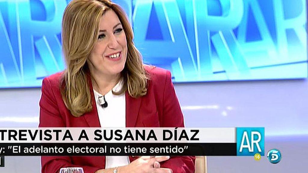 """S. Díaz: """"No voy a gobernar con el PP porque han hecho mucho daño a los ciudadanos"""""""
