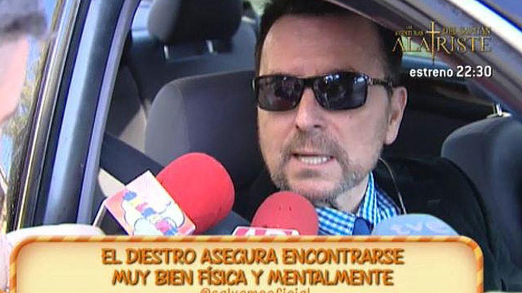 """Ortega Cano pide perdón a la familia de Calos Parra: """"Le rezo continuamente"""""""